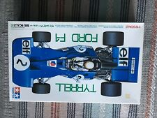 TAMIYA TYRREL FORD F-1 (BIG SCALE No 9) 1:12 SCALE MODEL KIT