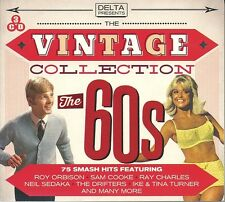 THE VINTAGE COLLECTION THE 60s - 3 CD BOX SET - SAM COOKE, JOHNNY MATHIS & MORE
