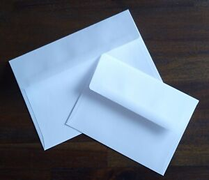 """25 Large Invite Announcement A9 Envelopes - 24# Text - 5 3/4"""" x 8 3/4"""" inches"""