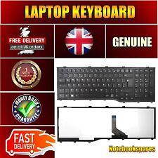 New Fujitsu LIFEBOOK AH532G21 Black Notebook Keyboard UK QWERTY with Frame
