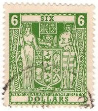 (I.B) New Zealand Revenue : Stamp Duty $6