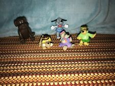 Pound Puppies Figures 1984 Dogs Lot Of 5