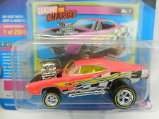 2018 Johnny Lightning STREET FREAKS 2A ZINGERS Neon Pink 1970 Dodge Charger