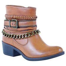 Women's GC Shoes Ranger Bootie Cognac Size 7 #NJCG5-433