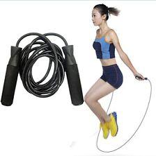 Cuerda De Saltar Asas Ajustables Cómodas Entrenamiento Boxeo Ejercicio Fitness