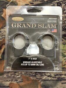 weaver grand slam scope rings