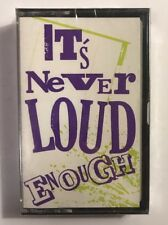 NEW Its Never Loud Enough Metal Promo Tape Fifth Angel Gothic Slam Killer Dwarf