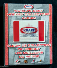 1997-98 Kraft Hockey Complete Factory Set with Album WORLD'S BEST COLLECTORS