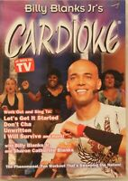 Billy Blanks Jr's Cardioke Workout Fitness exercise dancing dance DVD cardio