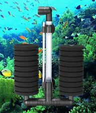 XY 2822 LARGE AQUARIUM BIOCHEMICAL  DOUBLE SPONGE FILTER  AIR PUMP TROPICAL FISH