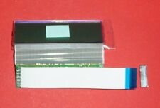 Vintage LCD Display Powertip PC 1602 E A NOS mit Buchse Flachbandkabel HD44780