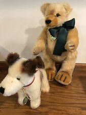 Vtg W/ Tags Max Hermann Iii/99 The Bear With The Running Dog 260/750 Teddy Bear