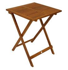 Gartentisch Bistrotisch Klapptisch Gartenmöbel Tisch LIMA 60x60cm Akazie Holz