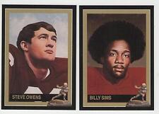 Steve Owens Billy Sims Oklahoma Sooners Heisman Cards FREE Shipping