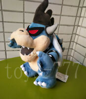 "Super Mario. Game 11"" Dark Bowser Koopa Bones Stuffed Animal Plush Soft Toy Doll"