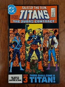 TALES OF THE NEW TEEN TITANS #44 NM First Appearance Of Nightwing