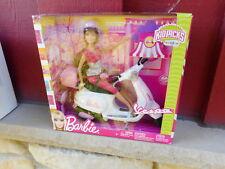 Nrfb 2010 Barbie Vespa play set ( S17B)