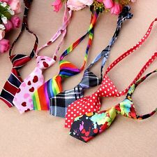 6Pcs in Set, Pet Dog Adjustable Grooming Necktie Puppy Kitten Adorable Bow Tie