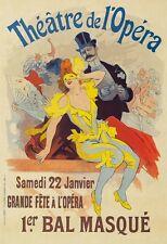 AP36 Vintage France Theatre De L'Opera Advertisement Poster Card Print A5