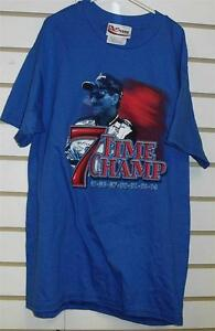 Dale Earnhardt Sr. shirt kids  sz YOUTH Large 14-16 NEW Miny 7x Champ 2 sided