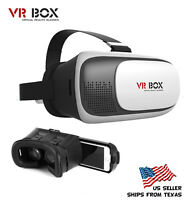 3D Glasses VR BOX 2nd Generation Virtual Reality for Apple, Samsung, Smartphone