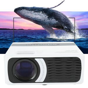 720P Portable Mini LED Projector HD 4K 3D Video Home Theater Cinema Multimedia