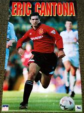 Vintage Original ERIC CANTONA Manchester United 1995 Soccer Football POSTER