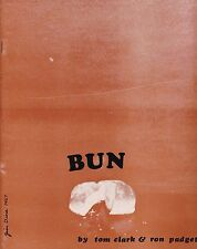 "TOM CLARK RON PADGETT JIM DINE ""BUN"" ANGEL HAIR BOOKS 1968 1ST ED. SIGNED COPY"