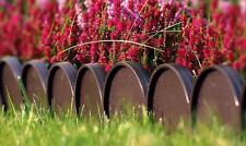 Plastik Garten Zaun Rasen Palisade Baumumrandung Beeteinfassung Rasenkante KRA-B