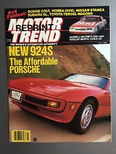 1986 Porsche 924S Showroom Advertising Sales Brochure RARE!! Awesome L@@K
