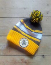 Boston Bruins NHL Hockey Mitchell and Ness Beanie Bobble Hat