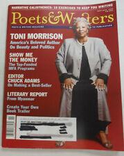Poets & Writers Magazine Toni Morrison & Chuck Adams December 2008 051615R