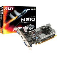 MSI GeForce 210 Graphics Card  -  16GB 64-bit GDDR3 - CUDA Technology - NVIDIA G