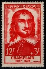 GRANDS HOMMES : CHAMPLAIN, Neuf * = Cote 4 € / Lot Timbre France 1068
