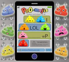 Vending Machine $0.50/$0.75 Capsule Toys - Poo-Mojis Emojis Poop-sters
