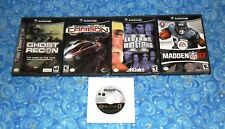 5 Nintendo GameCube Video Games with Madden 2007 Excellent Tested USA