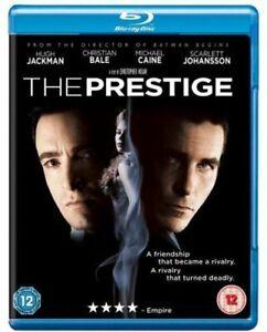 The Prestige [Blu-ray] [2006] [Region Free] [DVD][Region 2]
