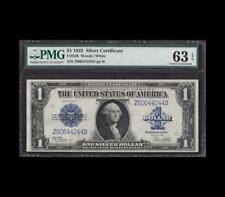 1923 $1 SILVER CERTIFICATE Fr.238 WOODS WHITE PMG CHOICE UNC 63EPQ