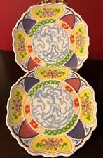Vintage Decorative Collectible Large 10� Wall Art Plates China Farmhouse Chic