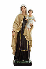 "STATUA Madonna del Carmelo cm. 170 - OUR LADY  of Mount Carmel 67"" Fiberglass"