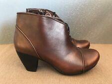 BNWT Ladies Sz 6 Rivers Brand Super Soft brozed coloured Short Ankle Boots shoes