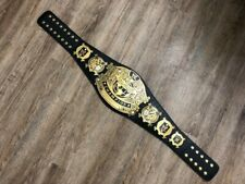 WWE Undisputed Championship Replica Title Belt - No Scratches; Belt Bag Included