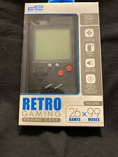 New I Phone 7/8 Retro Gaming Phone Case 26 Games x99 Modes Game Boy Look COOL