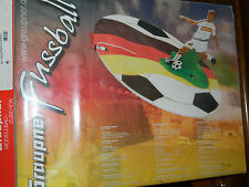 vintage GRAUPNER 9564 WP DISC spieler FUSSBALL depron JOUEUR de FOOTBALL de foot
