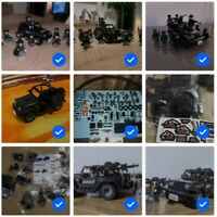 SWAT WW2 Military Weapons American Jeep Wrangler Compatible ARMY Minifigures SET