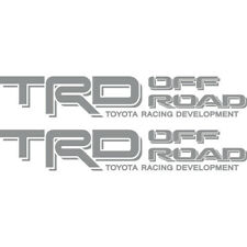 Toyota TRD Off Road 4x4 Tacoma Tundra Silver 03