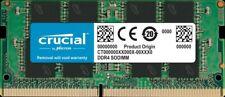 Crucial 16GB DDR4 RAM 2666MHz PC4-21300 260pin CL19 SODIMM Laptop Memory
