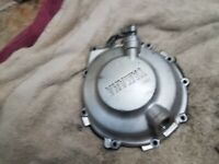 2001 Yamaha YZF R6 YZFR6 600 cc Clutch Cover Right Side Engine Motor Cover