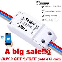 SONOFF Basic Smart Wifi Wireless Switch Timer Remote Voice APP Alexa Google FASP