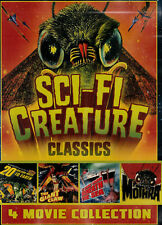 SCI-FI CREATURE CLASSICS NEW/UNSEALED 4 Great Films Region 1   UPC: 683904532169